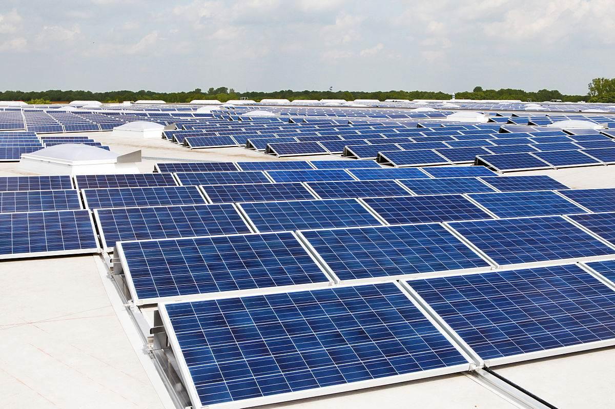 Photovoltaik Dachanlage Hannover   Schwarze Heide   1 MW