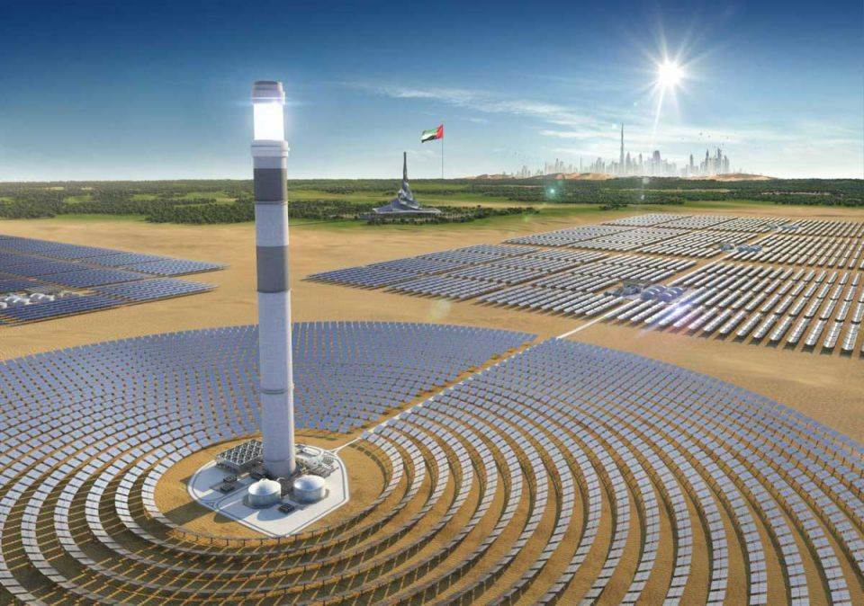 dubai solar park phase 4 9 1