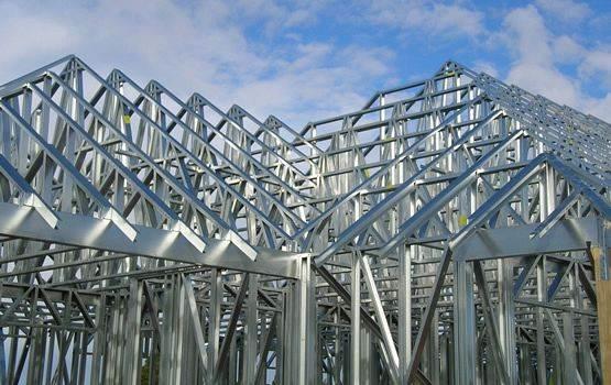 ساختمانهاي پيش ساخته فولادي سبك Weight Light Frame Steel