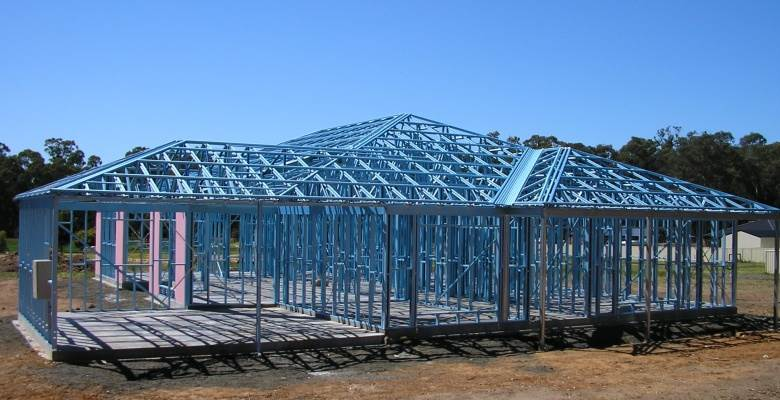 steel frame structure roofing buy